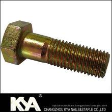 Perno de cabeza hexagonal DIN931 para la industria