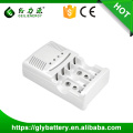 GLE-819 AA AAA 9v Battery Charger For Ni-mh/Ni-cd Made In China