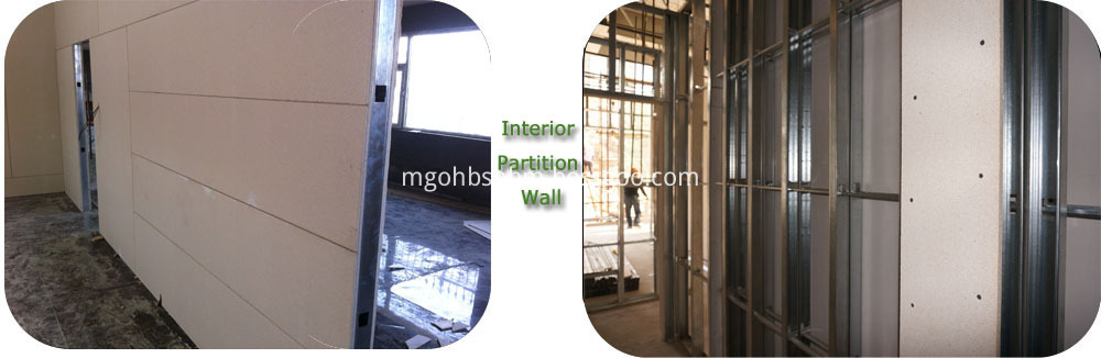 Fireproof Wall Panel Sanded Surface 3mm-20mm MgO Boards