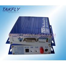 Transmissor ótico do vídeo de VGA HD / conversor video da fibra