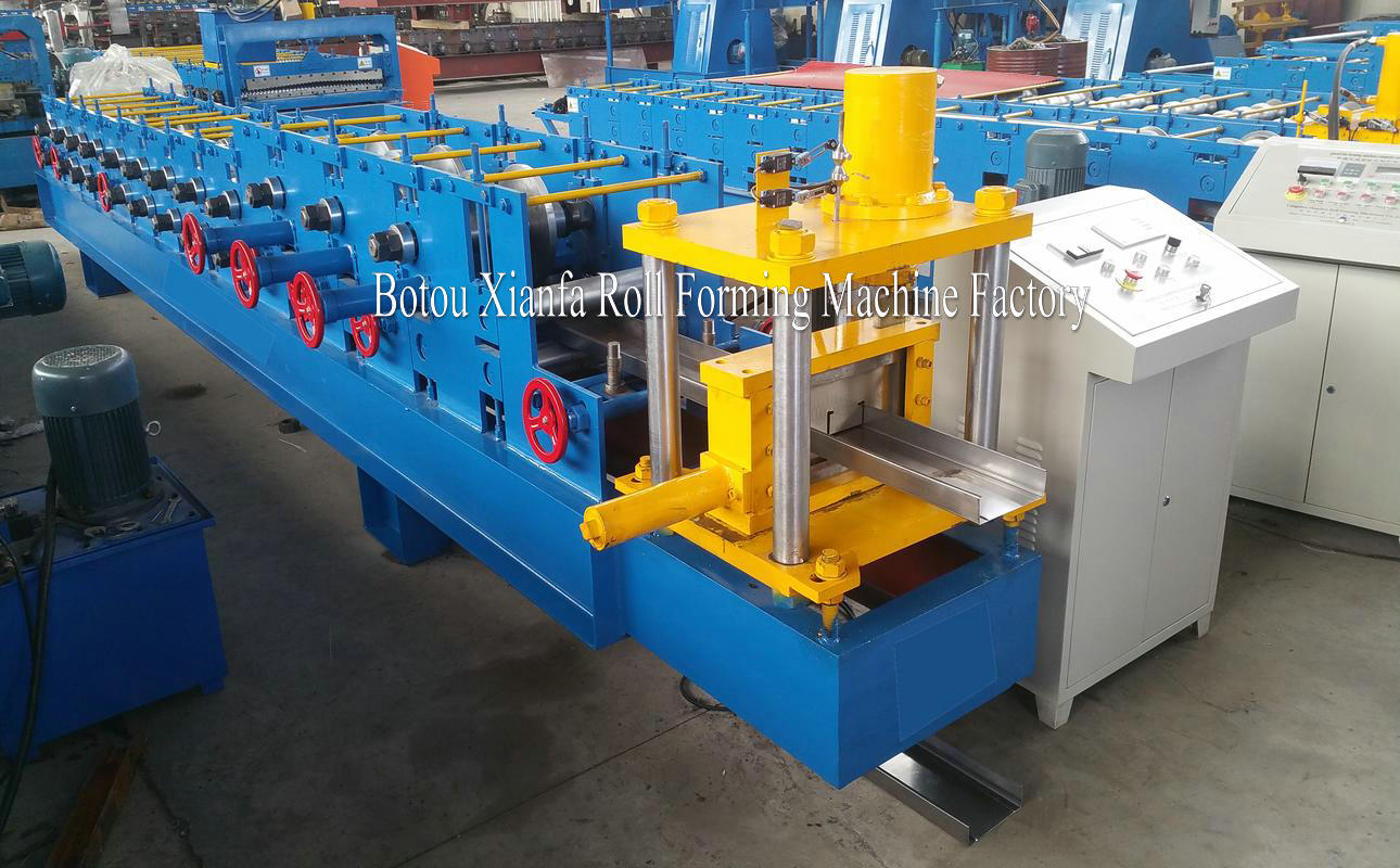 steel purlin forming machine