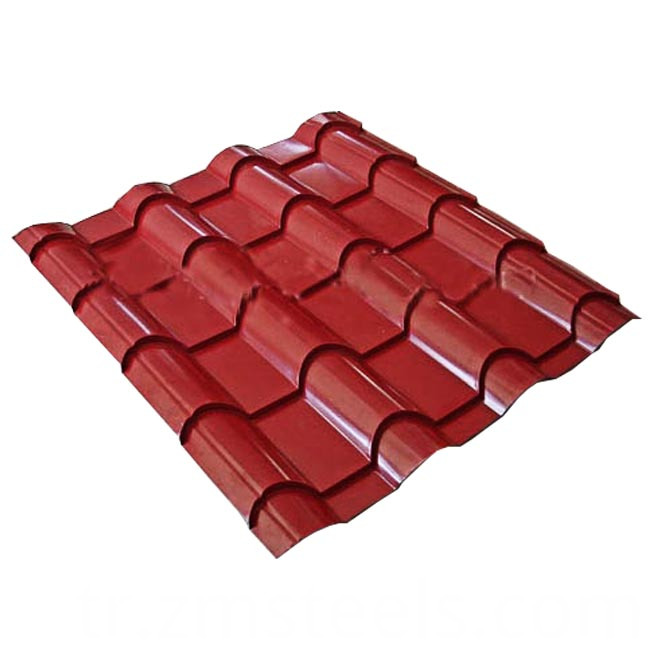 Corrugated Metal Roofing Plate