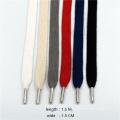 Cuerda de la pretina de la extremidad del metal de la ropa del 1.5M / cordón trenzado / cuerda de la cintura