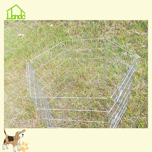 Vouwdraad Gegalvaniseerde Pet Dog & Rabbit Box