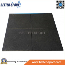 Rubber Gym Mat, Shock Resistant Rubber Gym Flooring Mat