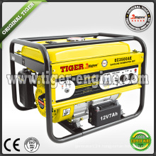Tiger 2.5kva key start electric generator price