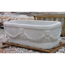 Antique Classic Bathroom Bath Tub with Stone Marble Granite (QBN066)
