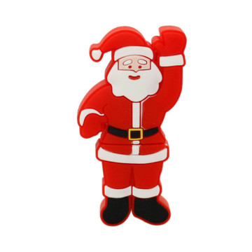 Weihnachtlicher Santa Claus Shaped USB Flash Drive