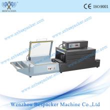 Pequeña máquina de envoltura de sellado y de encogimiento de barra en L con ce