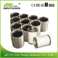 Pièces de pompe d'appoint de boue en céramique de traitement minéral