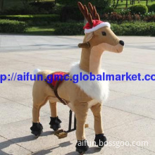 Merry Christmas! Take this reindeer toy as your kids\' Christmas gift