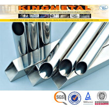 201 202 Tube de meubles en tube spécial en acier inoxydable