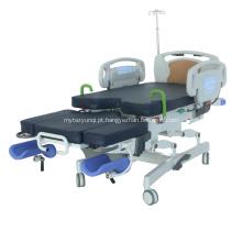 Cama elétrica multiuso do trabalho do hospital