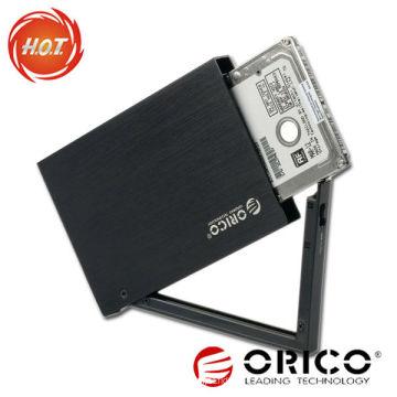 """ORICO Carcasa HDD móvil de aleación de aluminio de 2.5 """"con función de encriptación"""