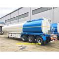 50 CBM Triaxial Gasoline Tanker Trailers