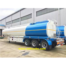 50 CBM Triaxiale Benzine Tanker Aanhangwagens