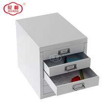 Home office Mini Unidade colorida gaveta de armazenamento