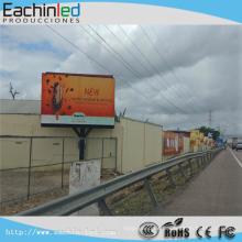 Exhibición llevada a todo color de la publicidad P6 SMD de la publicidad al aire libre
