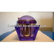 200g de plástico de luxo acrílico frasco cosmético