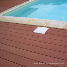 Revestimento de madeira do Decking da piscina impermeável
