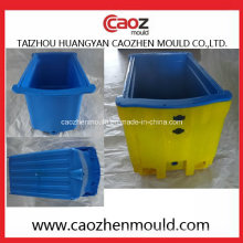 Molde de cajas de pescado duradero de inyección de plástico en China