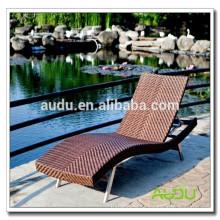 Audu heißer Verkauf USA faltbares Rattan Sun-Bett