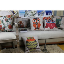 Printed Thrown Pillow Stuffed with Polyester Fiber