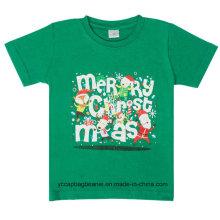 Atacado promocional Feliz Natal T Shirt