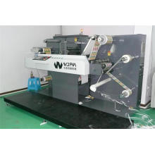 Máquina de corte de etiqueta giratória com alta precisão