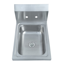 Wall Mount Stainless Steel Hand Wash Sink