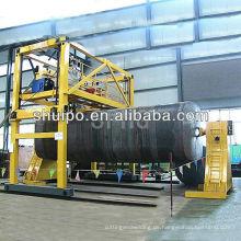 Automatische Umfangschweißmaschine für Umfangsnähte von unregelmäßig geformten Tanks / Schweißmaschinen für Tanks