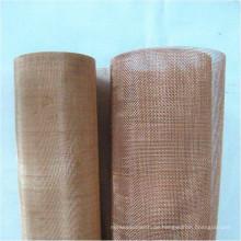 Kundenspezifische Phosphorbronze / Messing / rot Kupferdrahtgeflecht für die Filterung