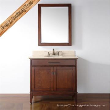 Шкаф для ванной комнаты из массива Fed-1540