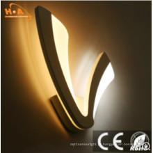Lâmpada de parede acrílica da iluminação decorativa interior européia