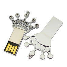 Hot sale for Metal Usb Flash Drive Top Selling Metal Imperial Crown USB Flash Drive export to Ireland Factories
