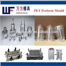 2 cavity plastic pet preform mould preform mould make