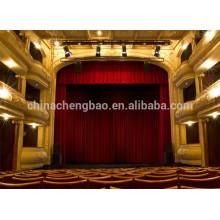 Cortina eléctrica hecha a mano al por mayor de la etapa para el teatro