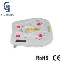 Plaque chauffante de vibration vibratoire de réflexologie électrique de vibration de thrapy