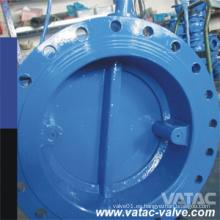 Válvula de retención de mariposa de hierro fundido / hierro fundido dúctil DIN / BS con doble brida