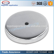China rare earth neodymium pot magnet