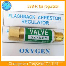 Vanne Yamato oxygène Flashback aresstor safety vavle 288R pour régulateur