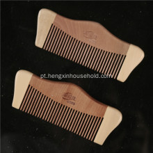 100% Natural Nanmu Princess Seamless Wooden Comb