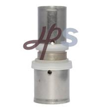 Montaje a presión de latón con superficie de níquel