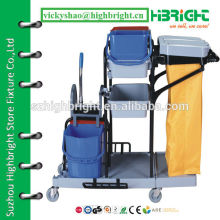 hotel service professional housekeeping janitor cart