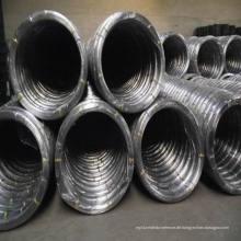 Galvanisierter Ovaldraht für 2.4 X3.0 und 17X15, verzinkter Stahldraht