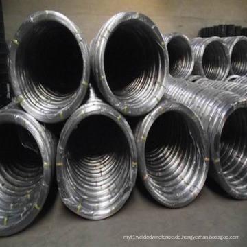 Hochfeste verzinkte ovale Stahldraht