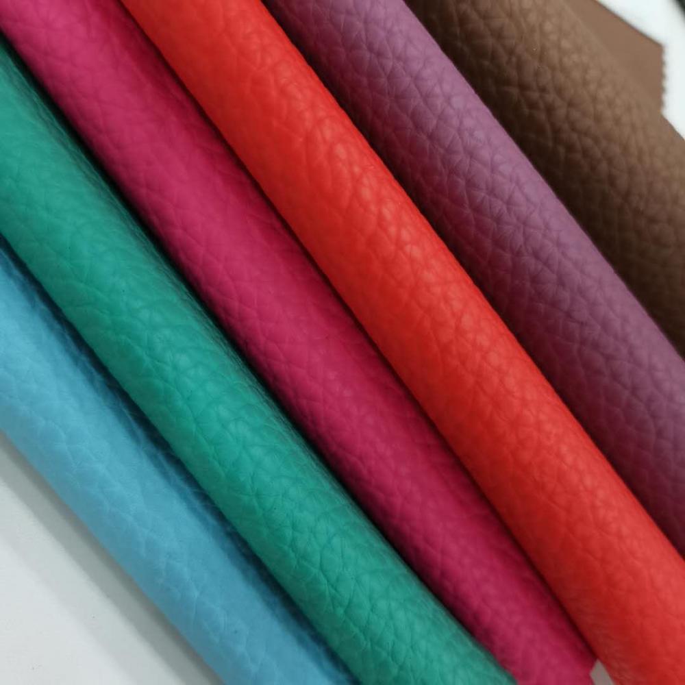 Litchi Grain Pvc Leather