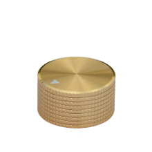 OEM Turning Brass knurled Knob