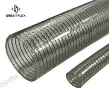 Heavy duty steel wire fiber composite hose