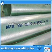 ASTM A53B tubo de acero al carbono / tubo sin soldadura / tubo soldado